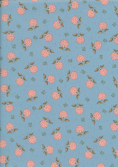 Ellie's Quiltplace - Modern Traditions Lady Holland Stone Blue