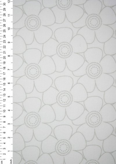King Fisher Fabrics - Get Back SSF48503GRAY-WHT