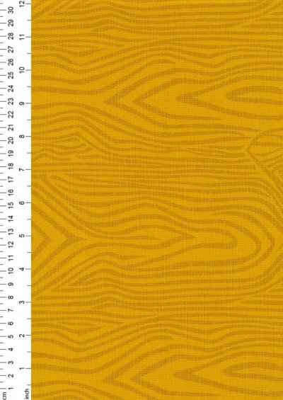 Extra Wide Wood Grain by John Louden - Yellow