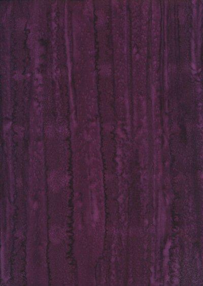 Fabric Freedom Bali Batik Stamp - Batik Tie Die  - Purple 150/F