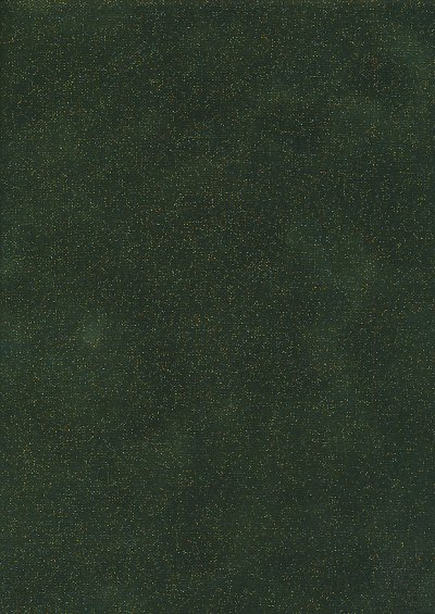 Fabric Freedom Traditional Gilded Christmas - Perfect Palette FF510-2 Dark Green