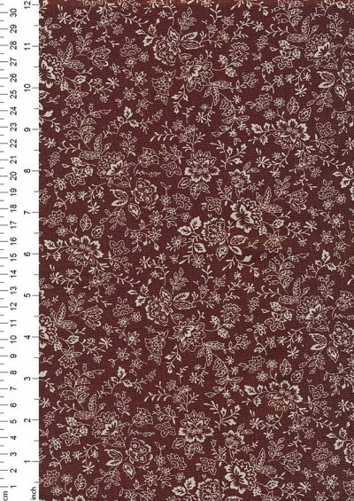 Fabric Freedom - Floral Silhouette FF25 Col 16