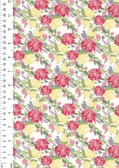Fabric Freedom - Meadow FF330 Col 1