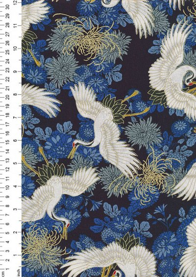 Fabric Freedom - Oriental Collection F.F.PO.328 Col 2