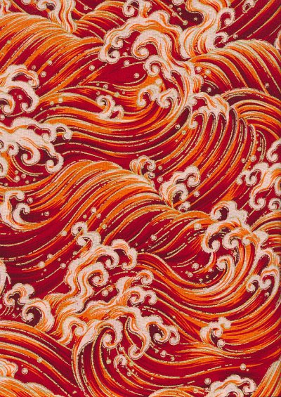 Fabric Freedom - Oriental Collection F.F.PO. 325 Col 2