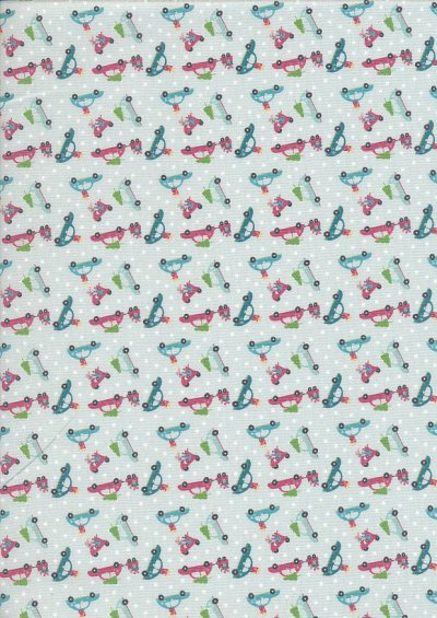 Fabric Freedom - Retro Christmas FF365 Col 1