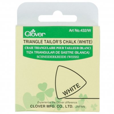 Tailors Chalk: White Triangle