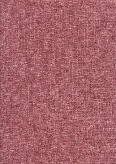 Sevenberry Japanese Plain Linen Look Cotton - RoseRose
