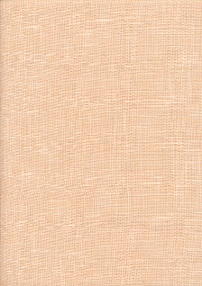 Sevenberry Japanese Plain Linen Look Cotton - PeachPeach