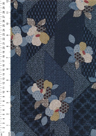 Japanese Fabric - Sekuta 60950 col 104
