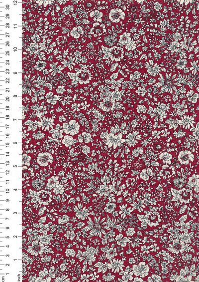 Liberty - Flower Show Winter Emily Silhouette Flower Red LF04775719E