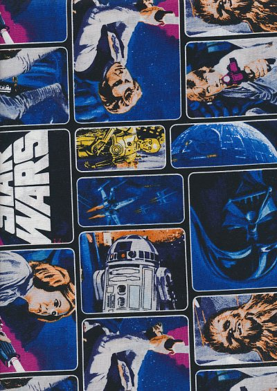Star Wars  - Characters Block