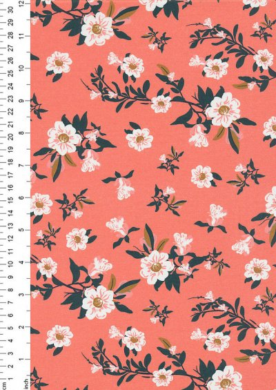 Paintbrush Studio - Imperial Garden Flowers Pink 20222