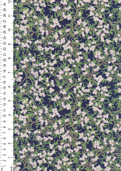 Rose & Hubble - Quality Cotton Print CP-0793 Navy Floral