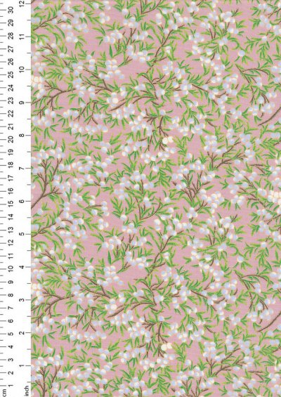 Rose & Hubble - Quality Cotton Print CP-0793 Rose Floral