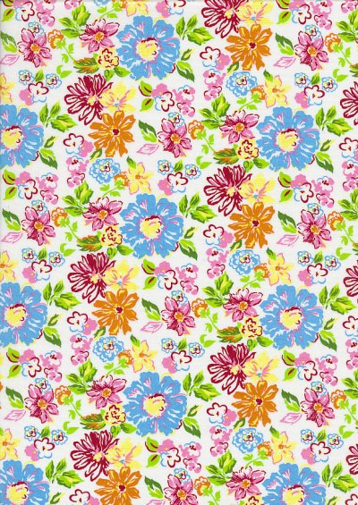 Fabric Freedom - Quality Cotton Print QCP11 Floral