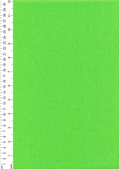 Rose & Hubble - Rainbow Craft Cotton Plain Lime 59