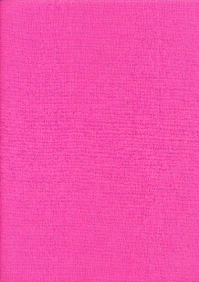 Rose & Hubble - Rainbow Craft Cotton Plain Bright Pink 31