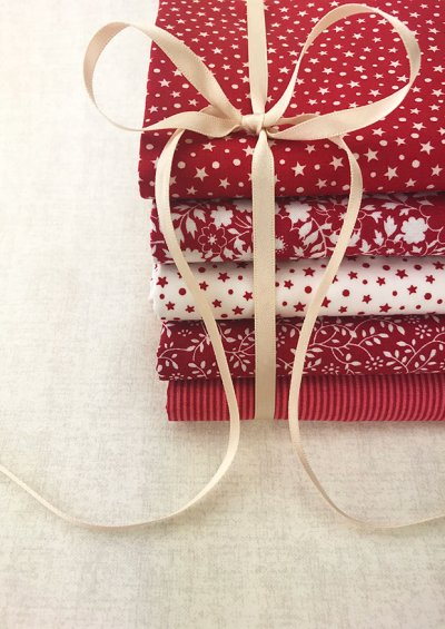 Doughty's Stocking Filler - 5 x 1/2 Metre Pack Red