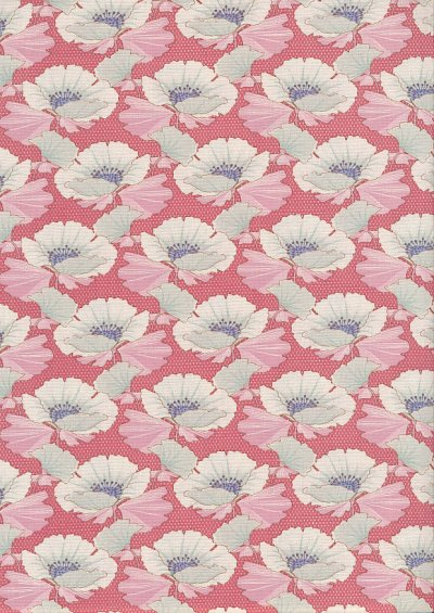 Tilda Fabrics - Maple Farm Gwendelyn Rosehip 100263